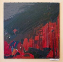 """Рената Зімніцька-Прабуцька """"Без назви"""", полотно, акрил, 100х100, 2010, Польща"""