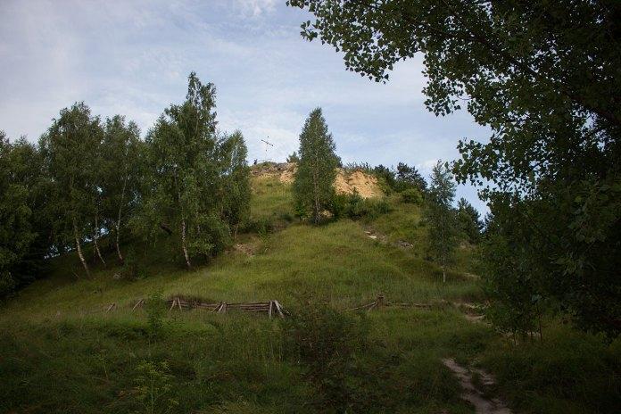 Вигляд на Лису гору (або гору князя Лева) у Львові