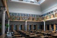 Читальний зал головного корпусу Львівської національної наукової бібліотеки України імені В. Стефаника