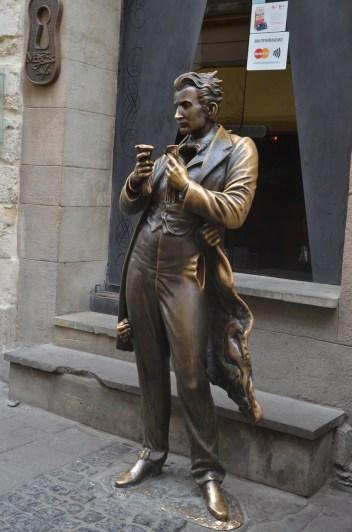 Скульптура Леопольда фон Захер -Мазоха