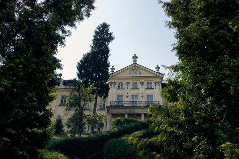 Митрополичі палати із садами на схилі Святоюрської гори, фото 2015 року.