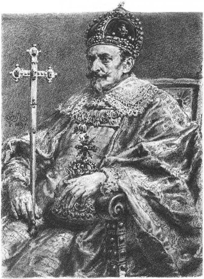 Портрет Сигізмунда ІІІ, робота Яна Матейка