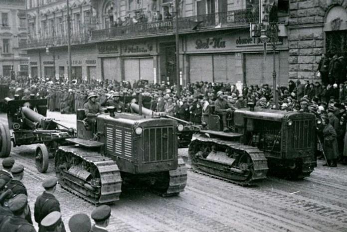 Радянський військовий парад, жовтень 1939 рік.