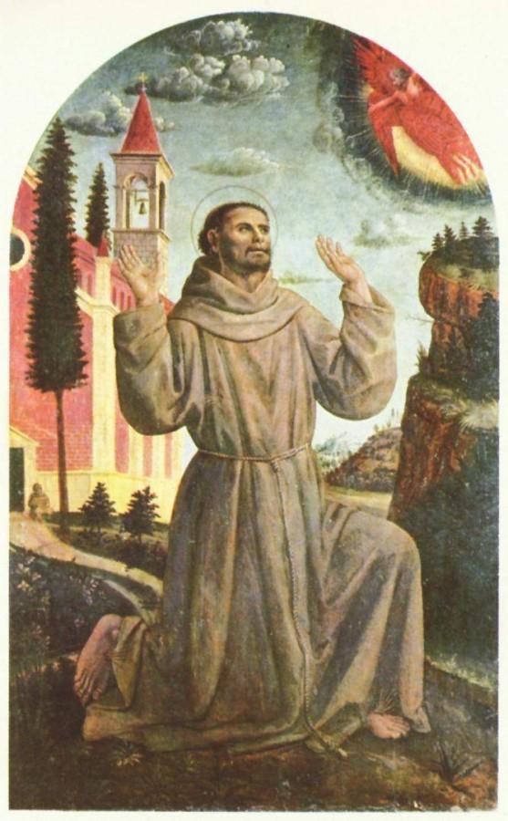 Вінченцо Фоппа, Святий Франциск приймає стигмати - Пінакотека Брера, Мілан