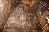 Розписи у церкві Св. Трійці на Сихові, фото 2015 р.