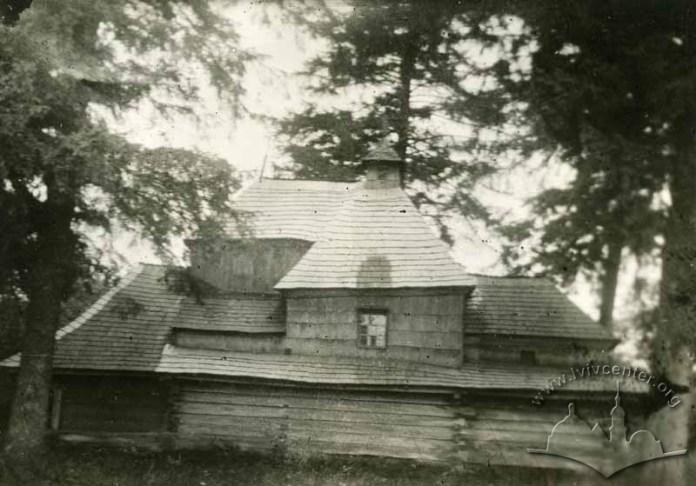 Церква Св. Трійці на Сихові, фото до 1932 р.