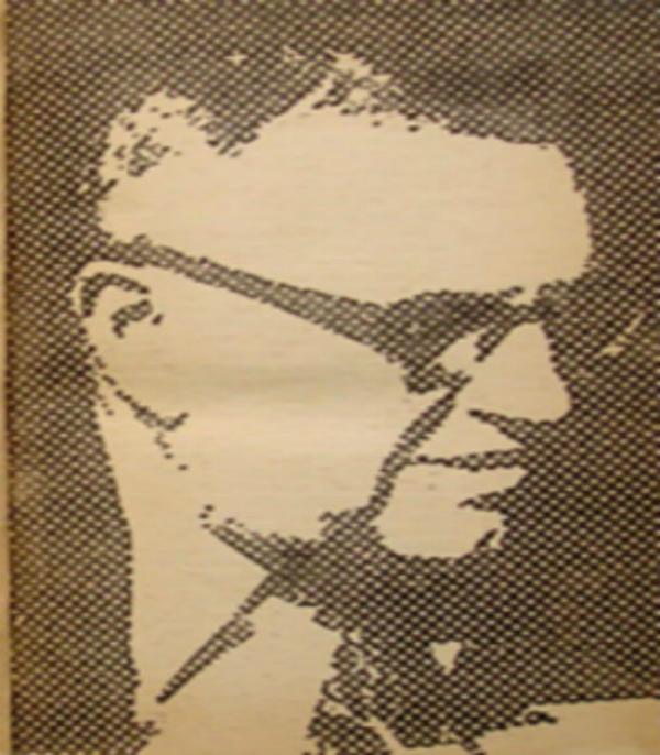Зображення Єжи Віттліна на одній з його книг