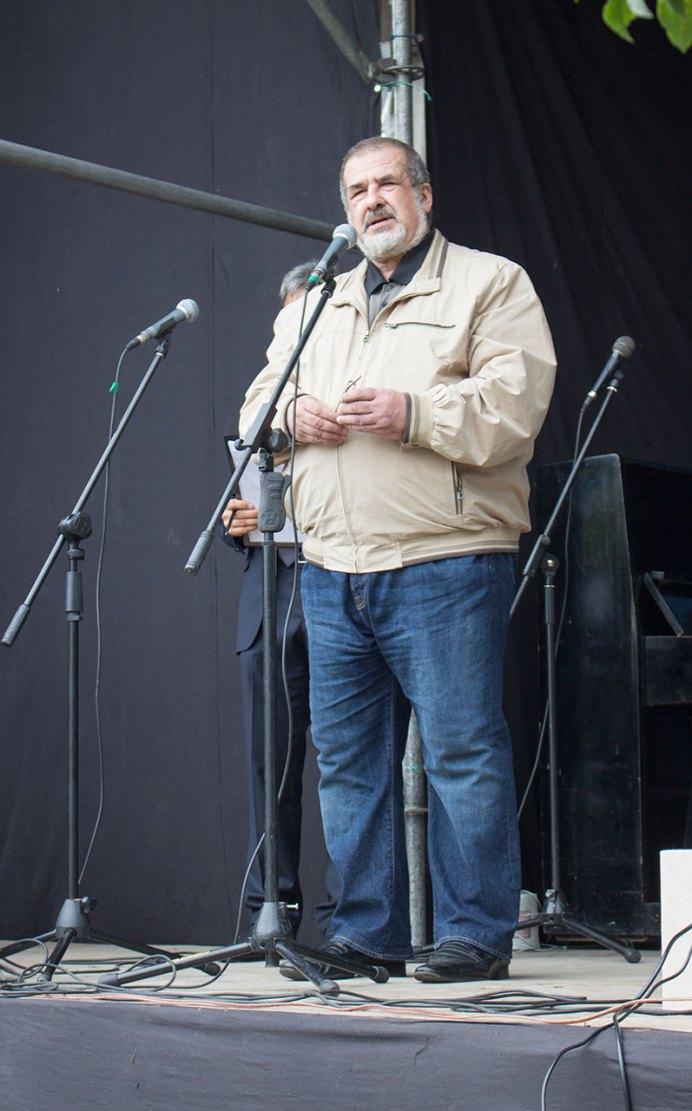 Рафат Чубаров на відкритті другого фестивалю кримськотатарської культури в Винниках