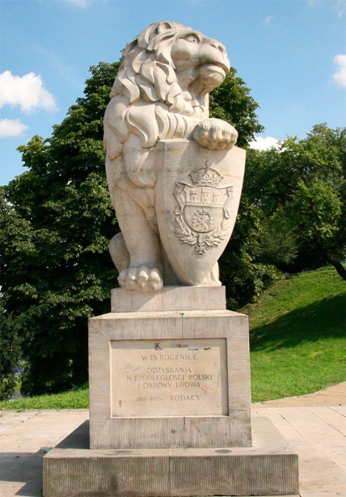 Лев біля Люблінського замку
