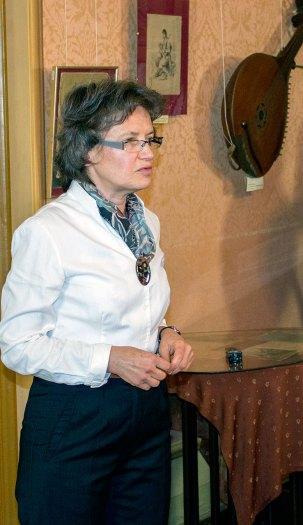 Ірина Криворучка на урочистостях з нагоди Дня Народження Соломії Крушельницької