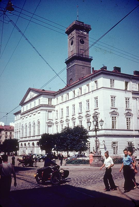 Львівська Ратуша, фото 1960 року