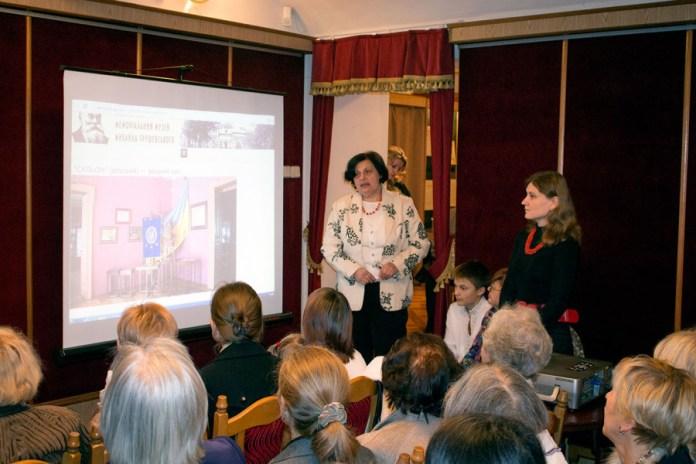 Презентація веб-сайту та віртуального туру експозицією Музею Михайла Грушевського у Львові