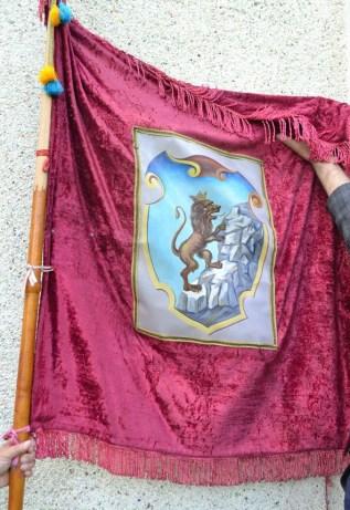 """Знайдений прапор організації """"Сокіл"""""""
