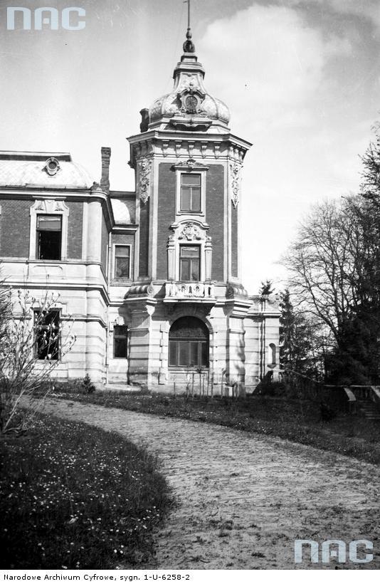 Палац Лянцкоронських в Тартакові, фото до 1939 р.