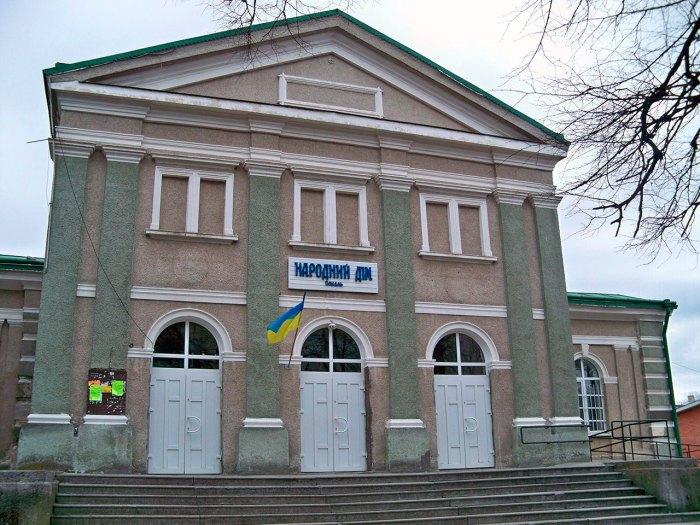 Народний дім у Сокалі. Джерело: commons.wikimedia.org