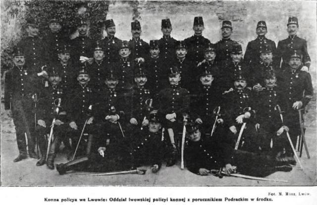Кінна поліція у Львові, 1906 рік