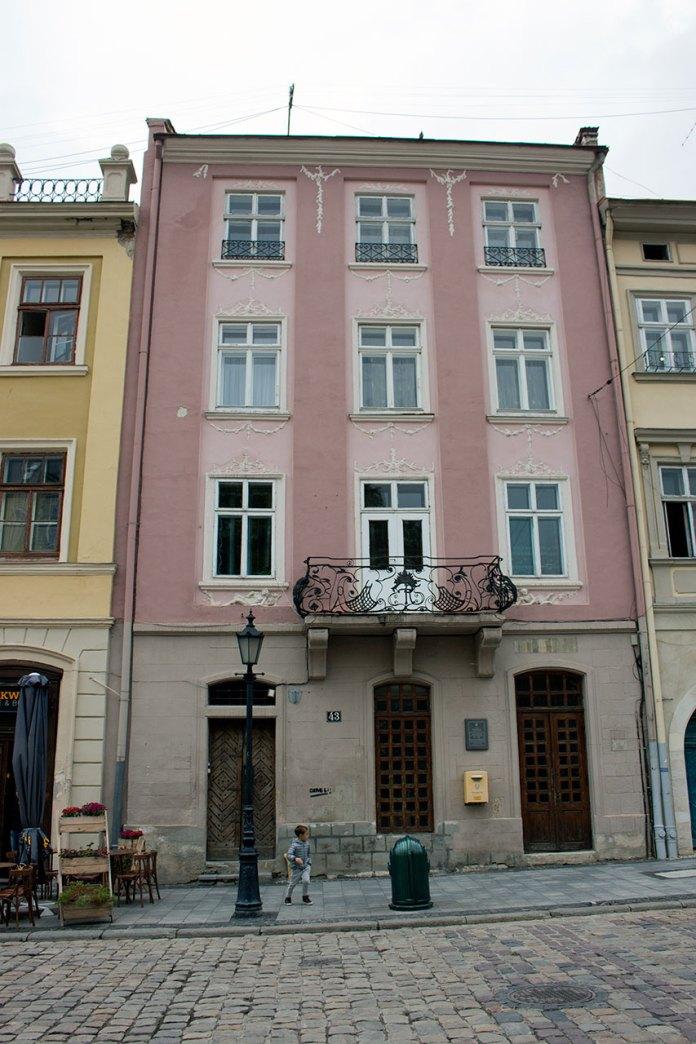 Будинок у Львові на площі Ринок, 43, фото 2015 року