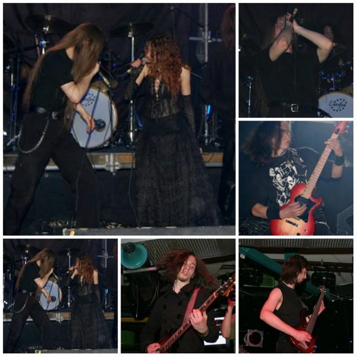 фрагменти з виступів гурту