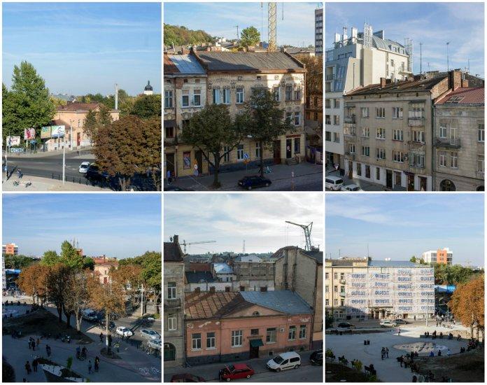 Панорама Львова з торгового центру Форум Львів в 12 фотографіях