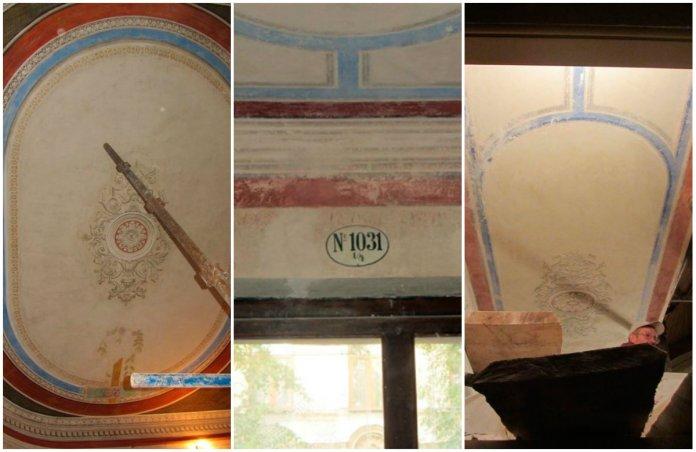 Під час реконструкції будинку у Львові знайшли старовинний розпис