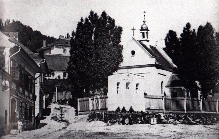 Костел Св. Івана Хрестителя, 1871-1887 роки