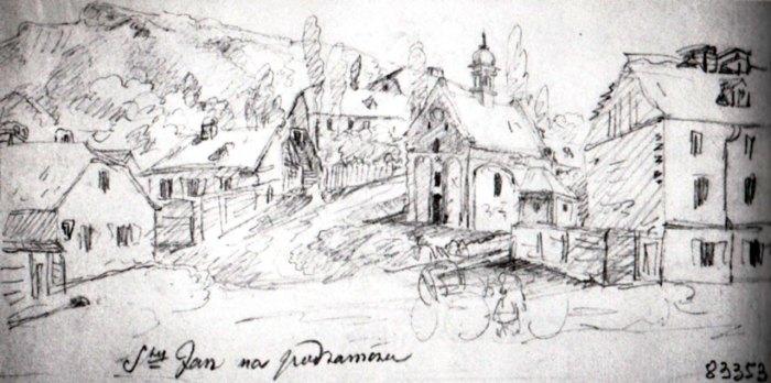 Костел Св. Івана Хрестителя. К.В. Келісінський (?), 1838 рік.