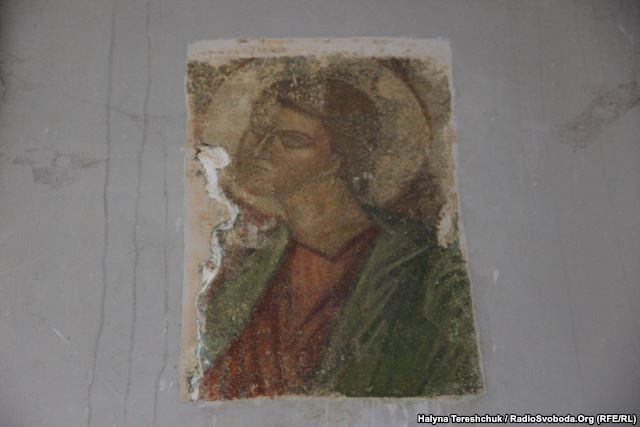 Фреска, знайдена в приміщенні адміністрації музею