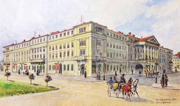 Тадеуш Рибковський.Театр Скарбека