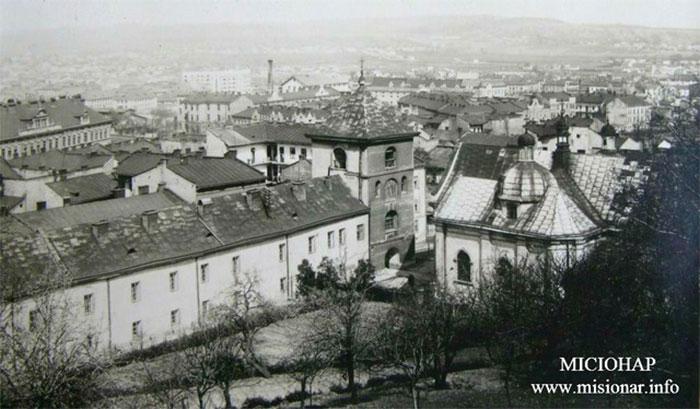 Святоонуфріївський василіянський монастирі у Львові 1932 р.