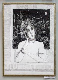 Експозицыя виставки дитячого малюнку, присвяченої 70-річчю Львівської дитячої художньої школи ім. Олекси Новаківського