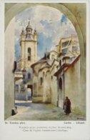 Прохід через подвір'я Вірменської церкви. Автор Станіслав Тондос.