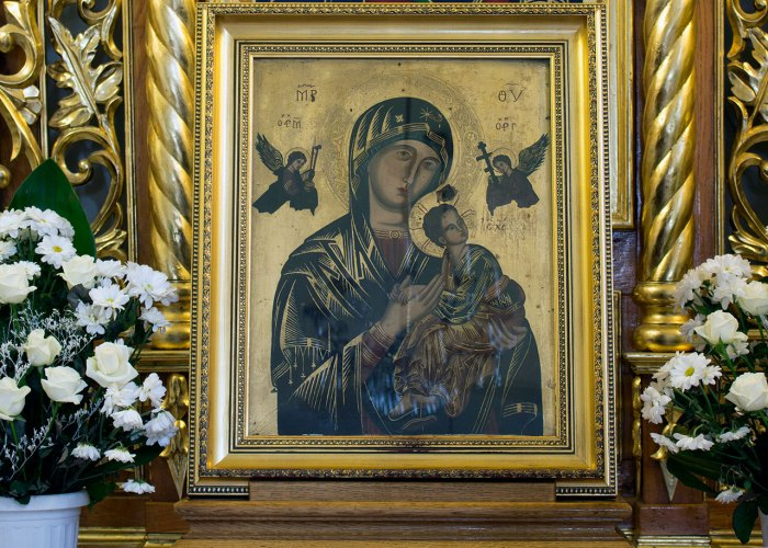 Ікона Матері Божої Неустанної Помочі, 2015 рік