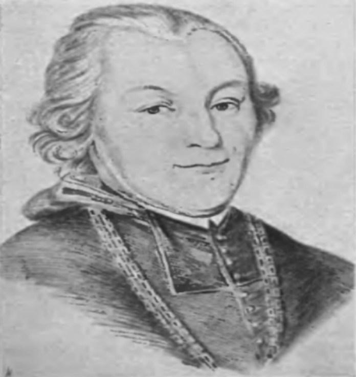 Каетан Кіцький, який запросив Анквича до Львова