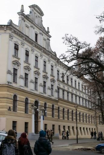 Навчальний корпус національного університету «Львівська політехніка»