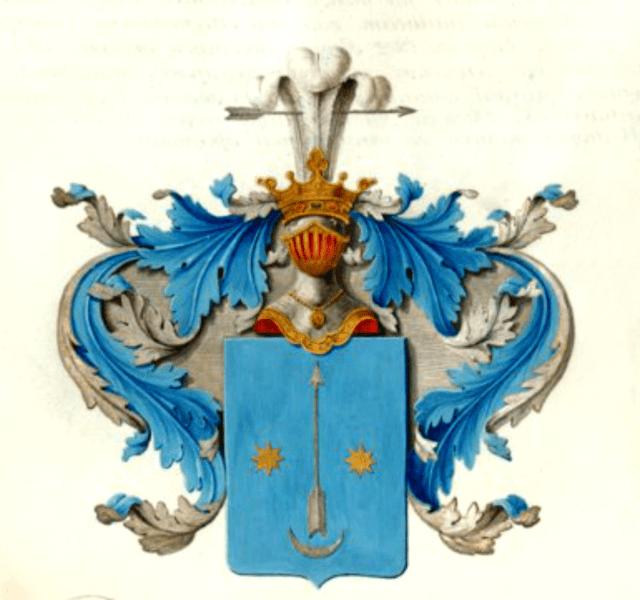 Герб роду Яворський, відомий як Сас