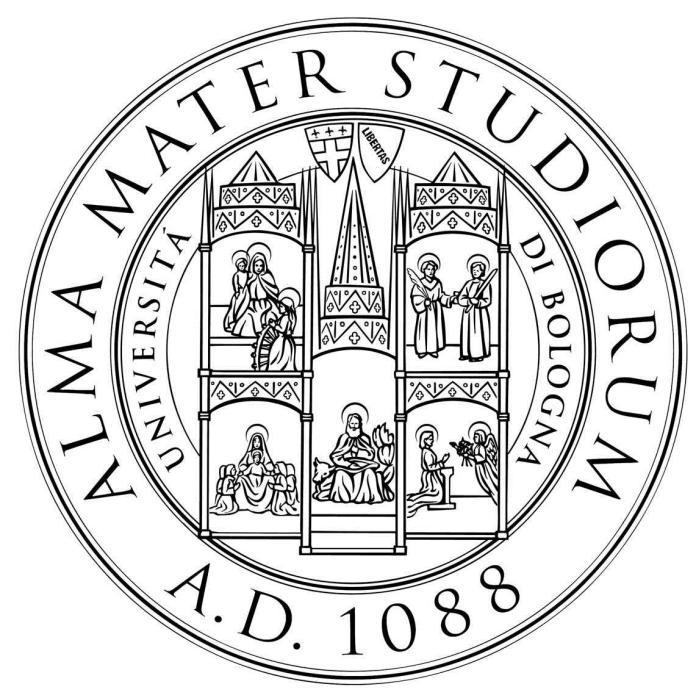 """Герб Болонського університету. """"Mater Studiorum"""" - Матір наук"""