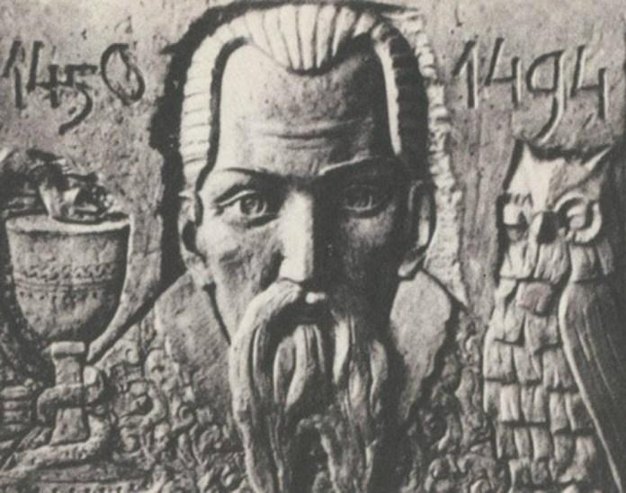 Євген Дзинра. Юрій Дрогобич, барельєф