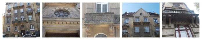 Балкони на вулиці Івана Франка