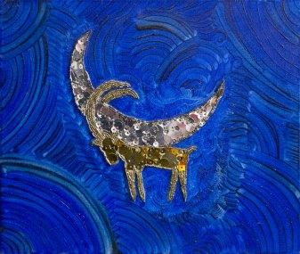 Експозиція робіт з бісеру виставки «Shine on you» Ольги Довгань-Левицької