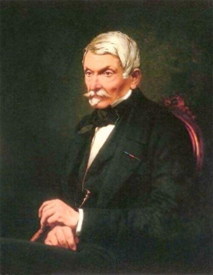 Александер Фредро (портрет А. Рачинського)