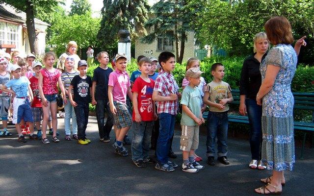канікули в Чернігівському літературно-меморіальному музеї-заповіднику Михайла Коцюбинського