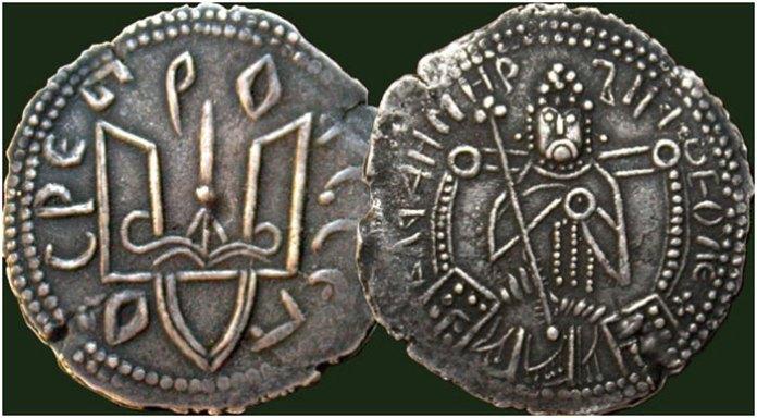 Срібляник - перша монета Київської Русі
