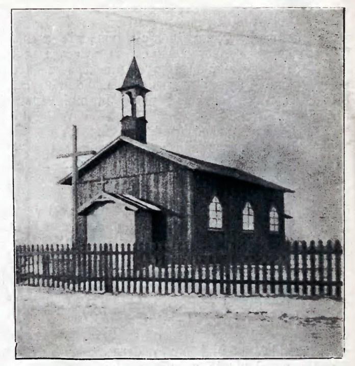 Дерев'яна каплиця святого Франциска Ассизького на Замарстинові, 1905 рік