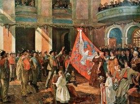 Церемонія Сокільського прапора, 1862 рік