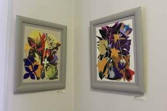 Відкриття виставки Ірини Токарської «Осінь. Пласти нашарувань» у Львові