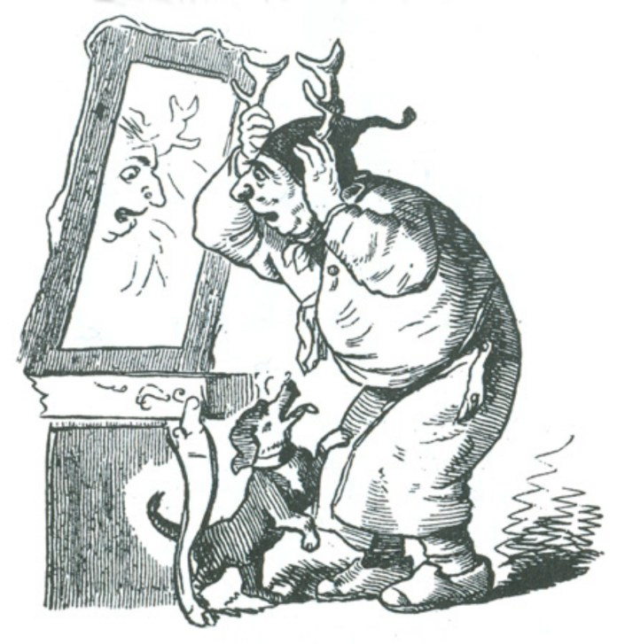 Малюнок з одного зі творів фон Бретшнайдера