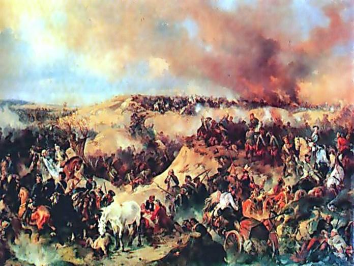Коцебу А. Кунерсдорфський бій (один з боїв Семилітньої війни), 1848 р.