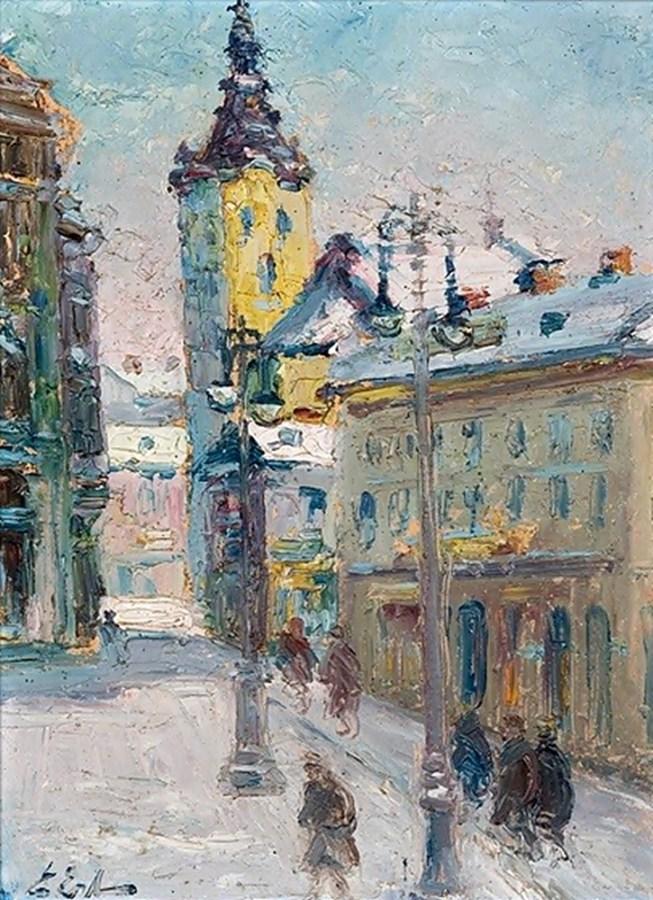 Ерно Ерб. Зима у Львові, 1940 рік