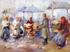 Ерно Ерб. Міський ринок на площі Краківській у Львові (тепер Ярослава Осмомисла)