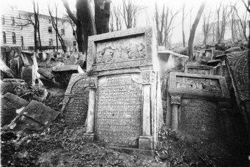 Гробівці старого єврейського цвинтаря
